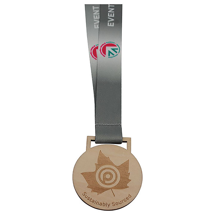 30mm Wooden Medal