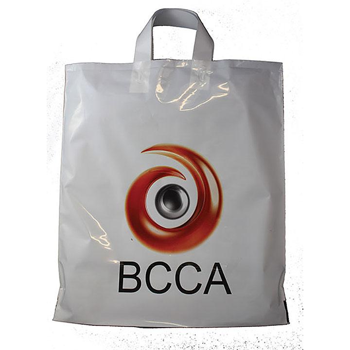 CMYK Digital Flexi Loop Carrier Bag
