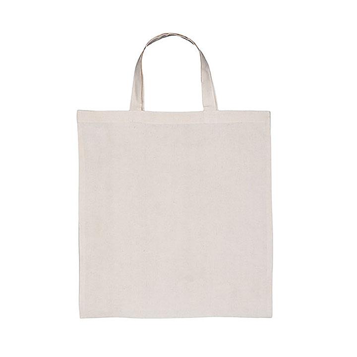 Natural 5oz Cotton Shopper - Full Colour