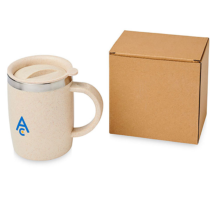 Thrasher Wheat Straw Insulated Mug