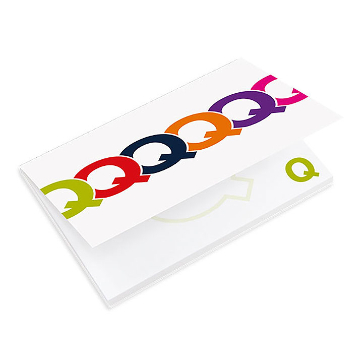 NoteStix Card Cover Adhesive Pads 105 x 75mm - Full Colour