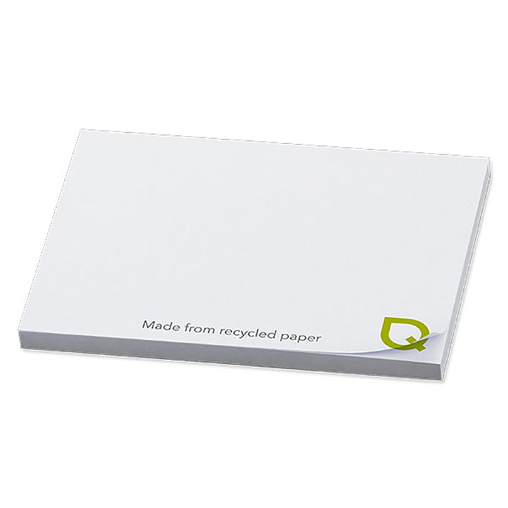 NoteStix Recycled Adhesive Pads 105 x 75mm