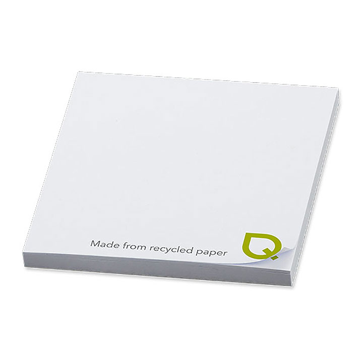 NoteStix Square Recycled Full Colour Adhesive Pads 75 x 75mm