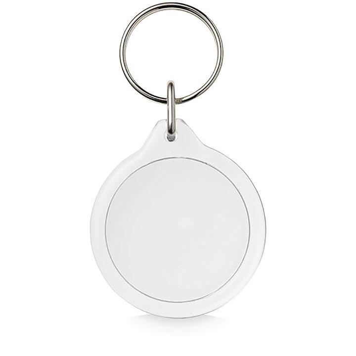 Adview Round Plastic Key Ring 17