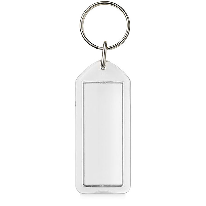 Adview Oblong Plastic Key Ring (Stein F1)