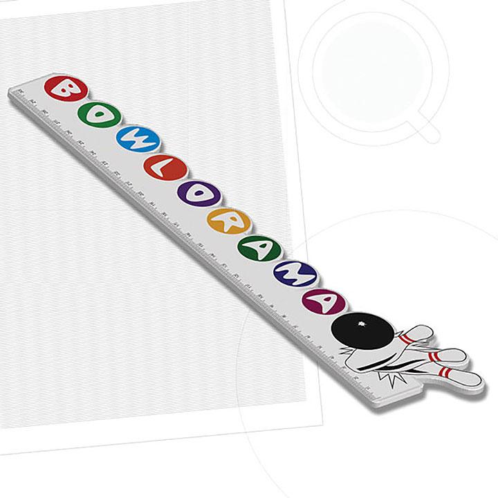 Recycled 300mm Custom Shaped Ruler