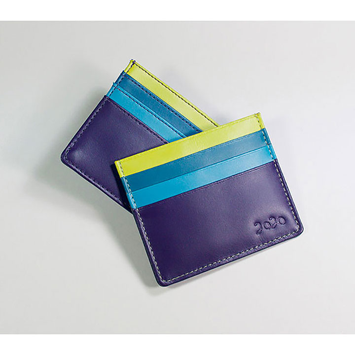 Bespoke Malvern Leather Credit Card Holder