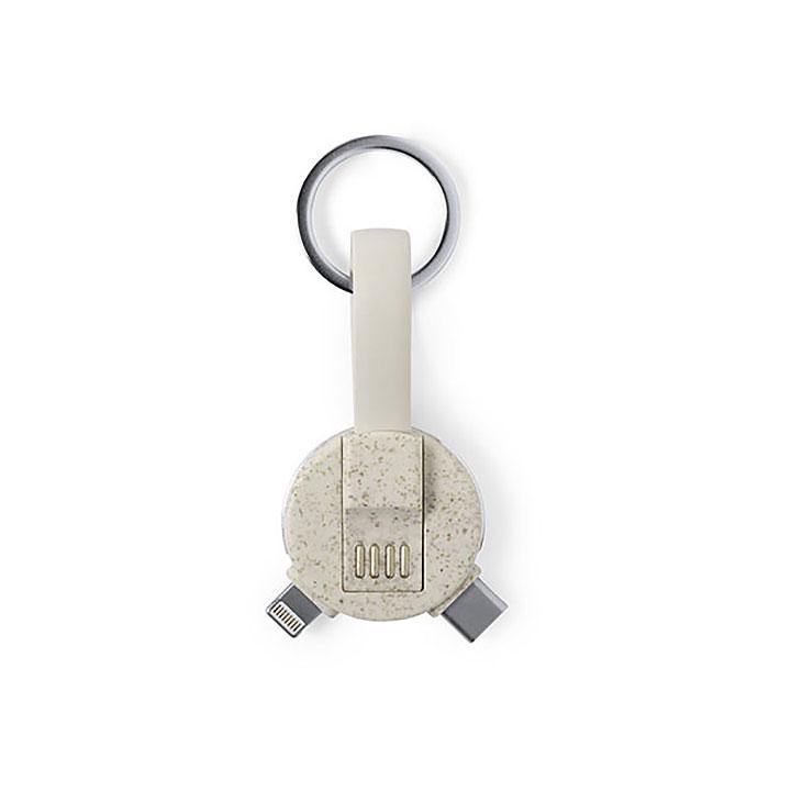 Natureline WheatStraw Multifunctional Key Ring