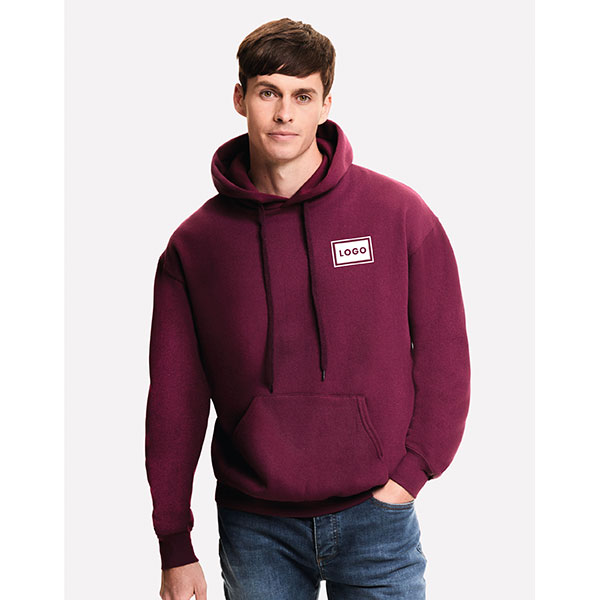 Fruit of the Loom Mens Classic Hooded Sweatshirt