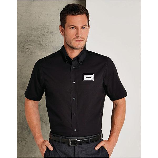 Kustom Kit Mens City Short Sleeve Shirt