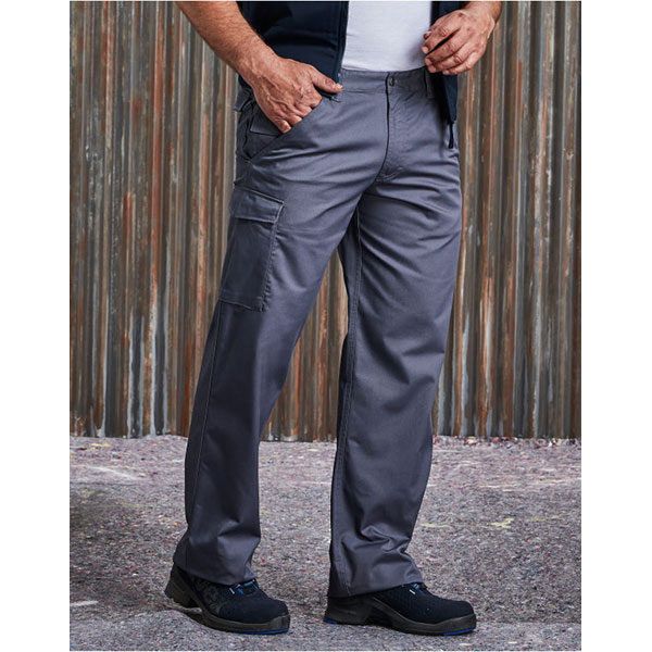 Russell Polycotton Twill Trousers