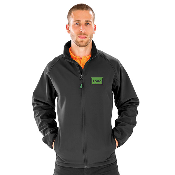 Result Recycled Mens Printable Softshell