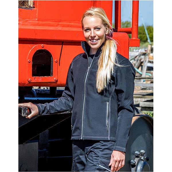 Result Workguard Womens Softshell