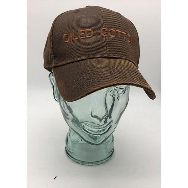 Oiled Cotton Baseball Cap
