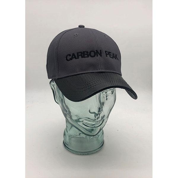 6 Panel Carbon Fibre Effect Cap