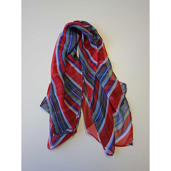 Silk Printed Long Scarf