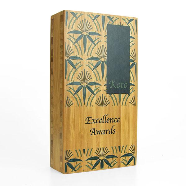 40mm Moso Bamboo Award