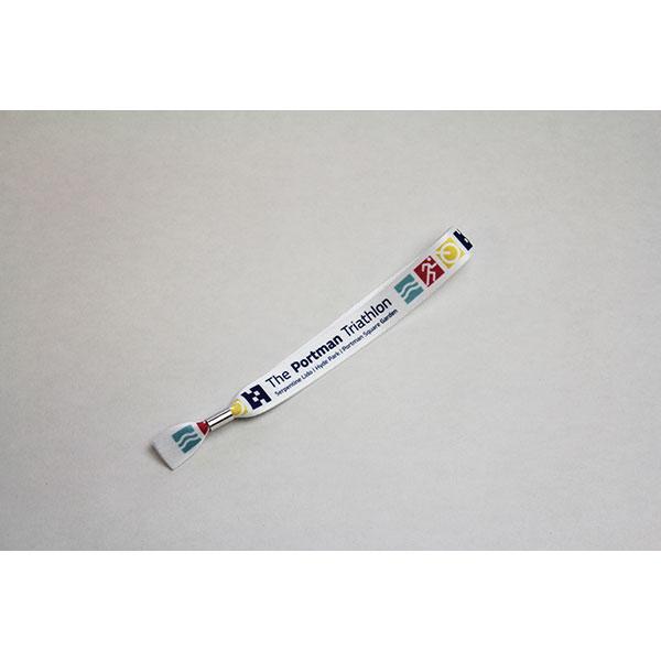 UK Made rPET Polyester Festival Wristband