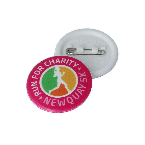 32mm Circular Recycled Button Badge