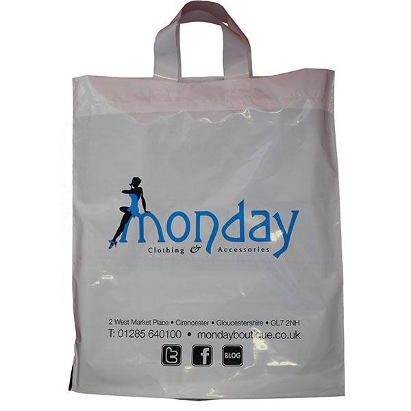 Biodegradable Flexi Loop Carrier Bag