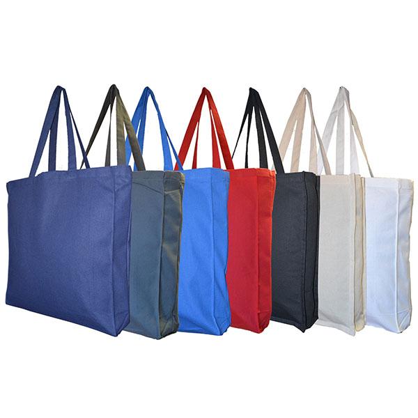 Dyed Cotton Canvas Bag - Full Colour