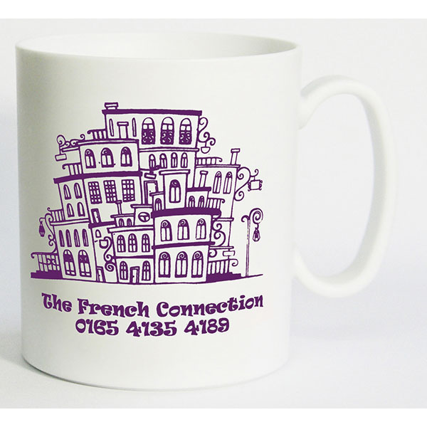 Plastic Transit Mug