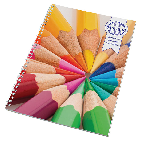 A4 Wiro Smart Notepad - Full Colour