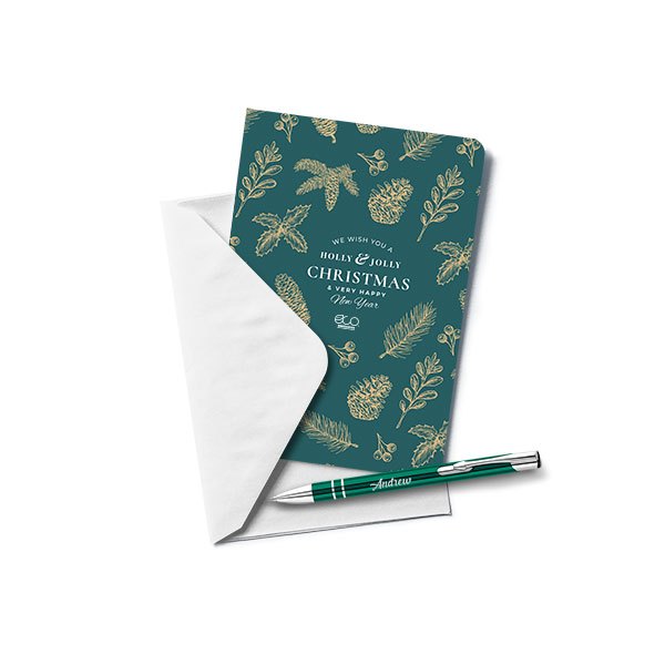 Greetings Card with Electra® Ballpen