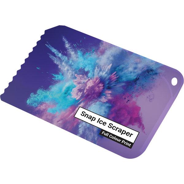 Credit Card Ice Scraper - Full Colour