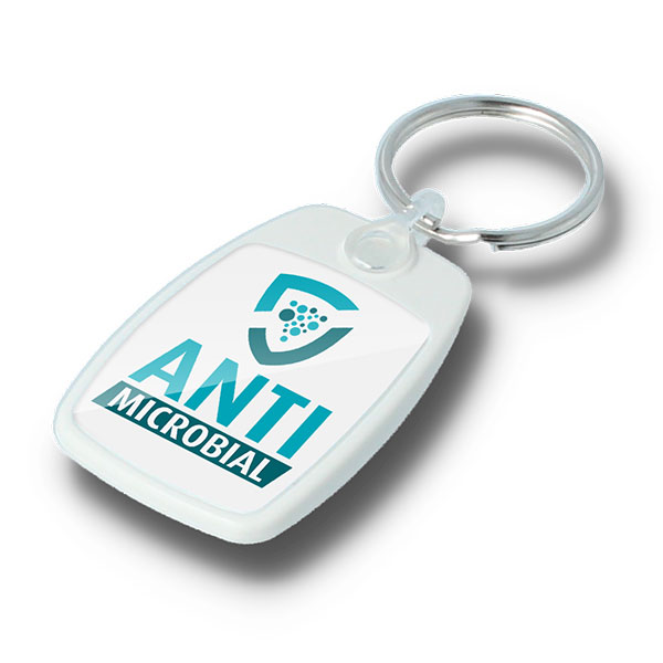 Classic Antimicrobial Recycled Key Ring