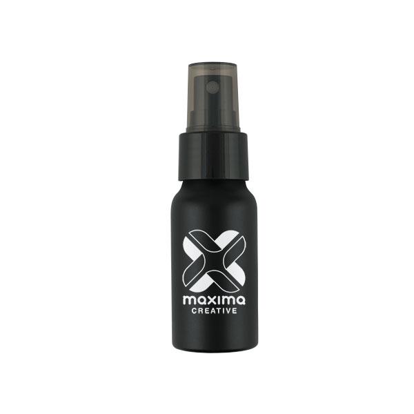 Black Aluminium 30ml Hand Sanitiser Spray