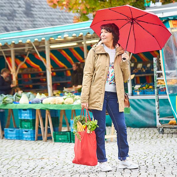 FARE Mini Okobrella Shopping Umbrella and Bag