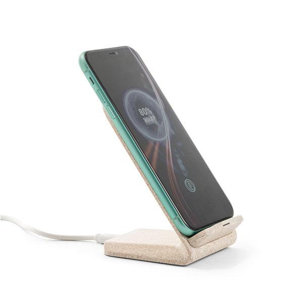 Downham Englert Wheatstraw Phone Holder & Wireless Charger