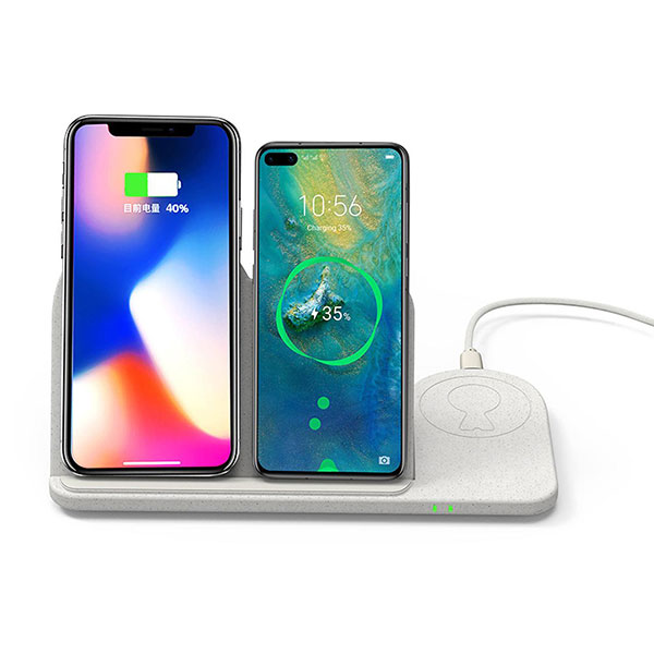 Xoopar Eco Mr Bio Family Wheat Wireless Charger