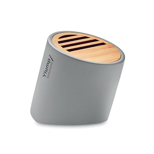 Limestone Cement & Bamboo Bluetooth Speaker