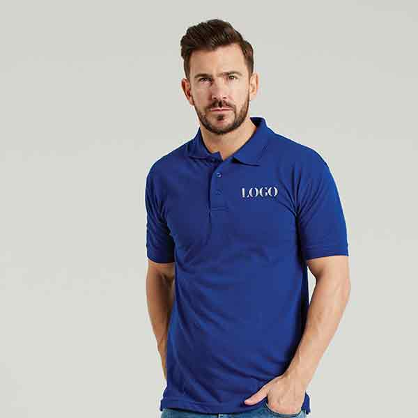 Ultimate Clothing Collection 50/50 Heavyweight Pique Polo