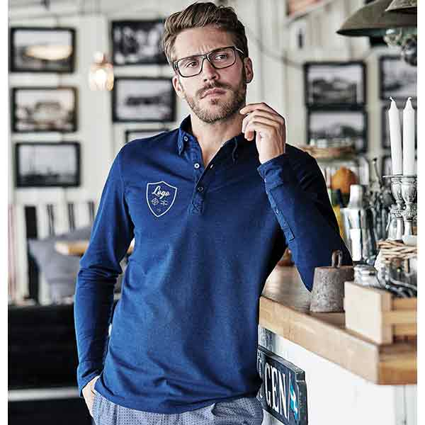 Tee Jays Long Sleeve Luxury Stretch Fashion Polo