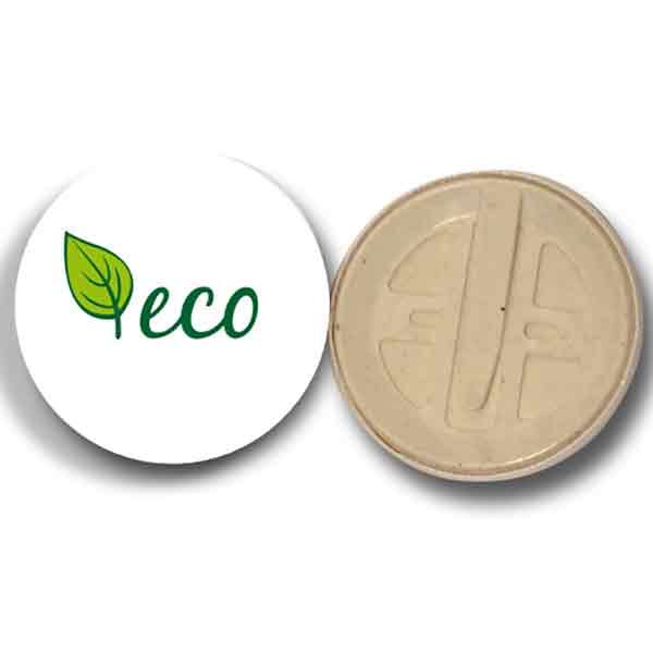Compostable Badges - 1 Colour