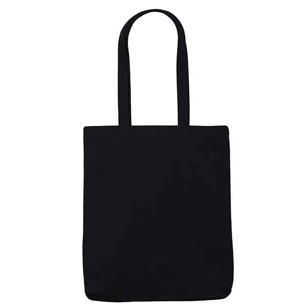 Black 10oz Canvas Cotton Shopper