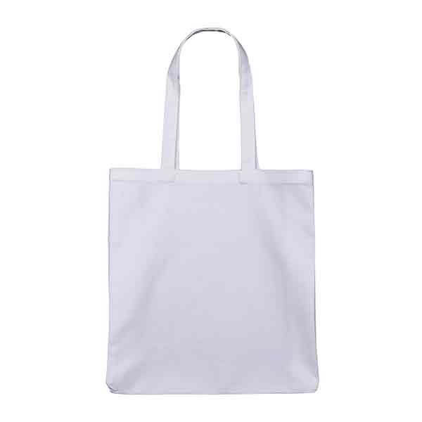 White 10oz Canvas Cotton Shopper