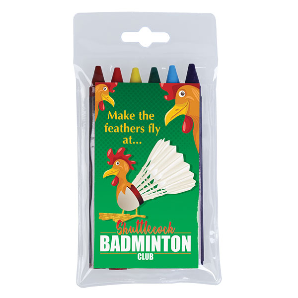 Pack of 6 Crayons